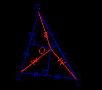 Серединный перпендикуляр свойства